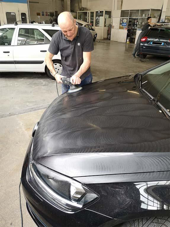 lucidatura auto e veicoli a Bergamo Carrozzeria Erio Tarchini